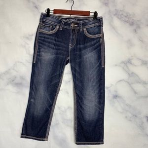 Silver Suki Surplus Capri Pants